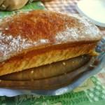 Un gran bizcocho de nata con azúcar glass de Pablo Tejada. ¡Qué buena pinta! La receta de TM aquí.