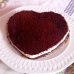 Esta romántica Tarta Oreo me la manda Carmen Lobato. La hizo en un molde con forma de corazón y dice que estaba muy rica. La receta aquí.