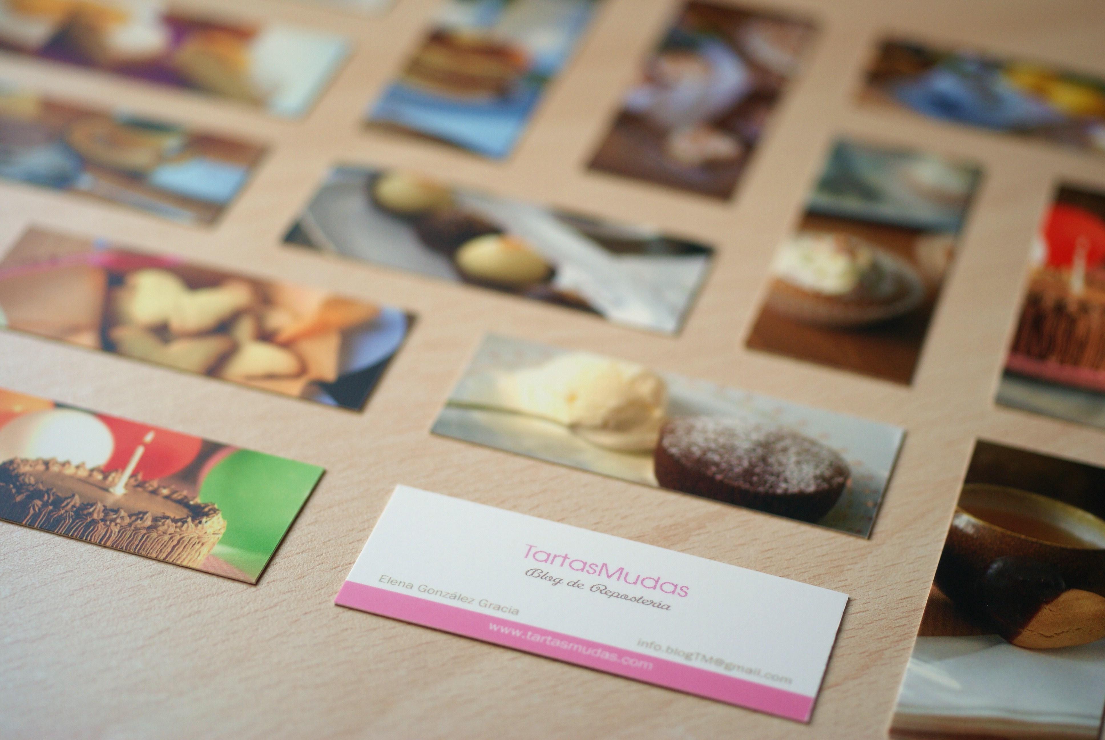 ¡¡Las nuevas tarjetas de TartasMudas!!