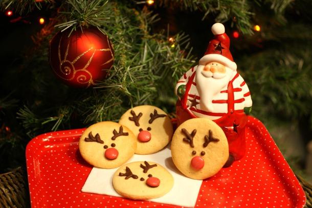 Galletas navideñas en forma de reno :)