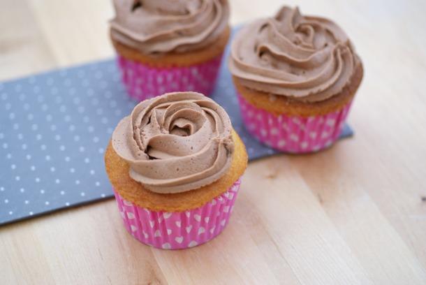 Cupcakes de chocolate de Alma.
